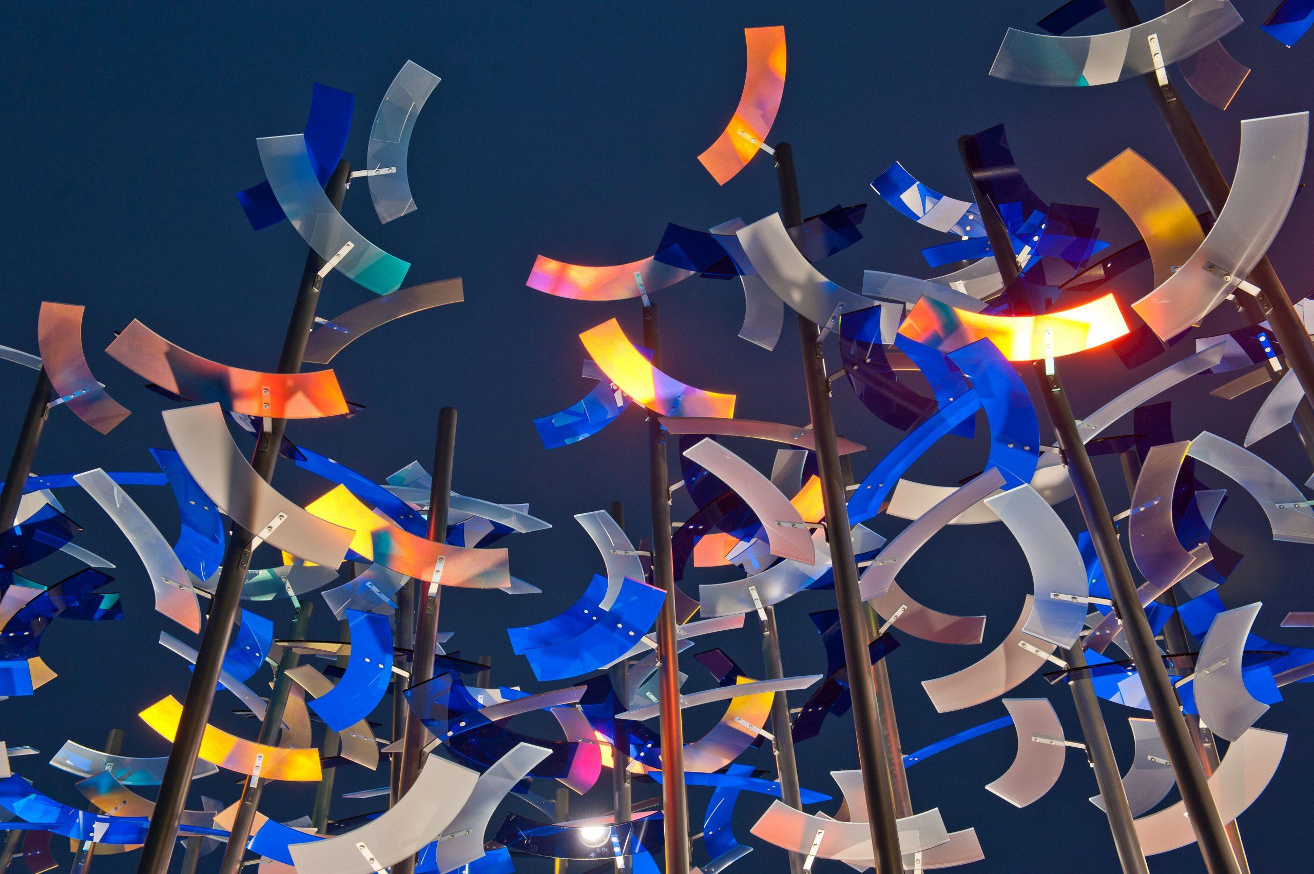 Illuminated Gateway Arbors