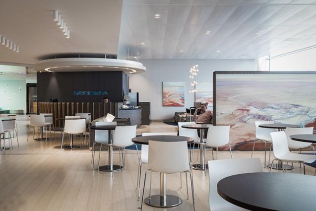 Aspire Lounge for Swissport Ltd. at Schiphol International Airport