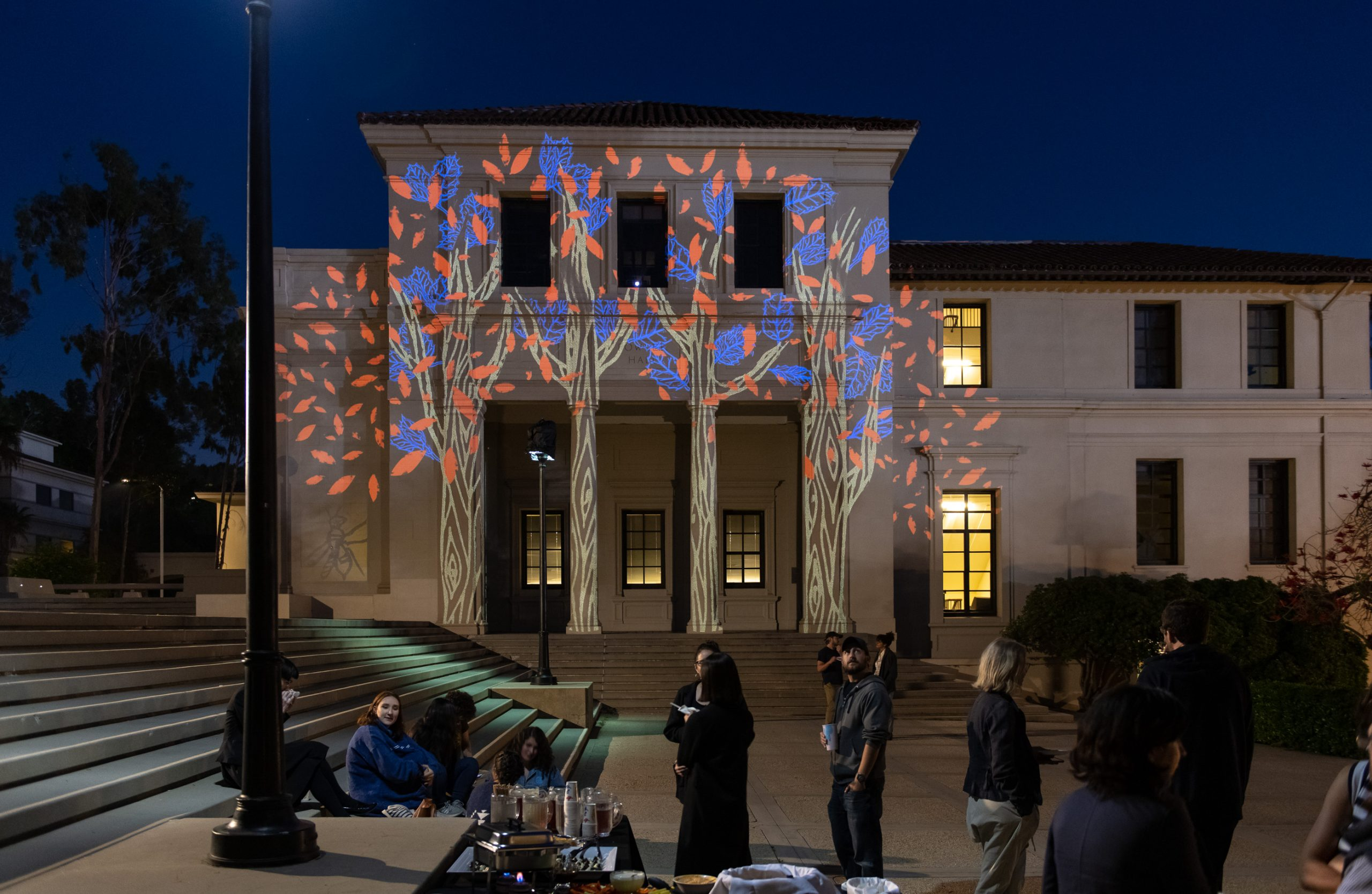 Ettinger Projected Poetry and Art Project