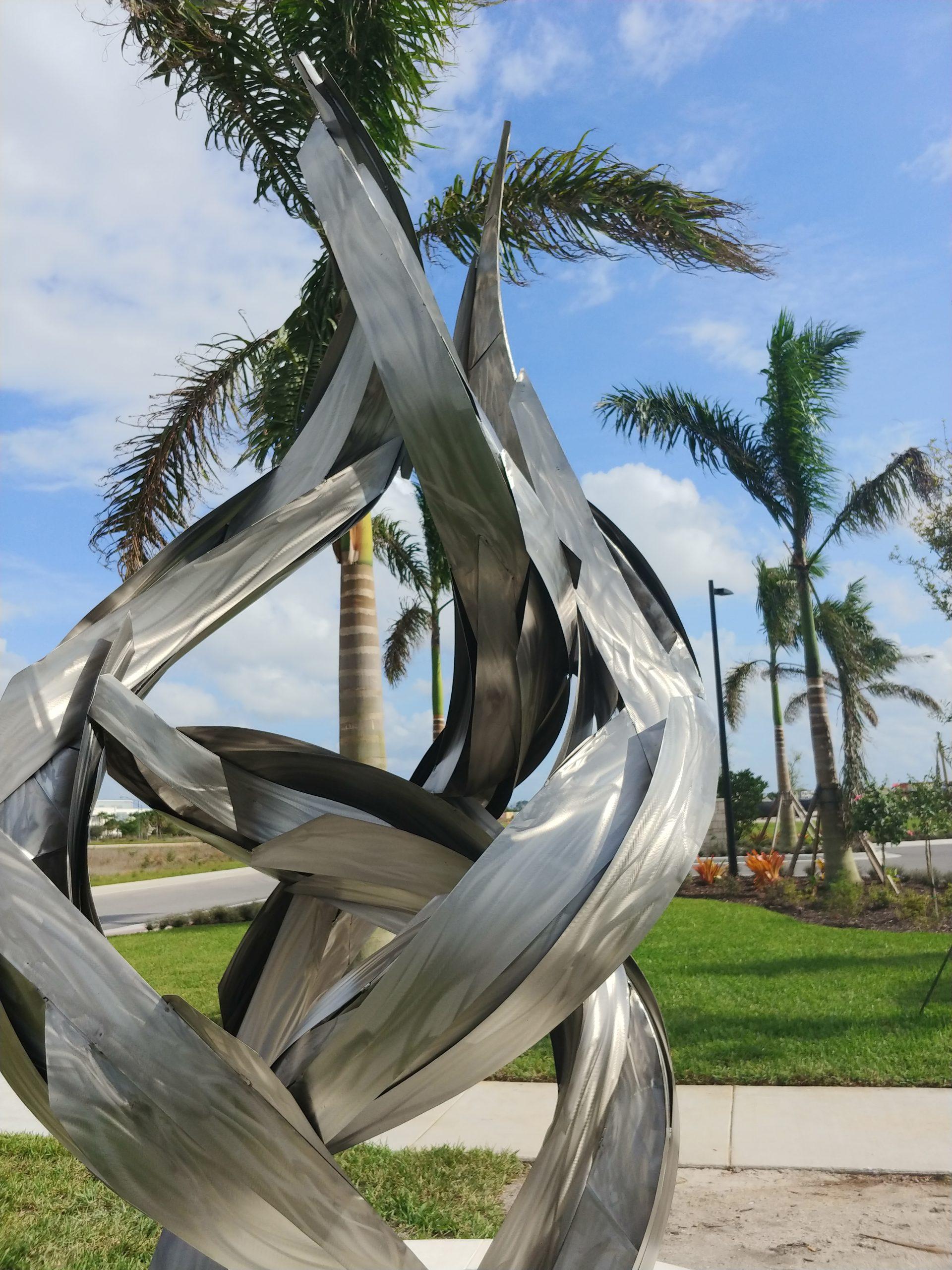 Evolve Stainless Steel Sculpture