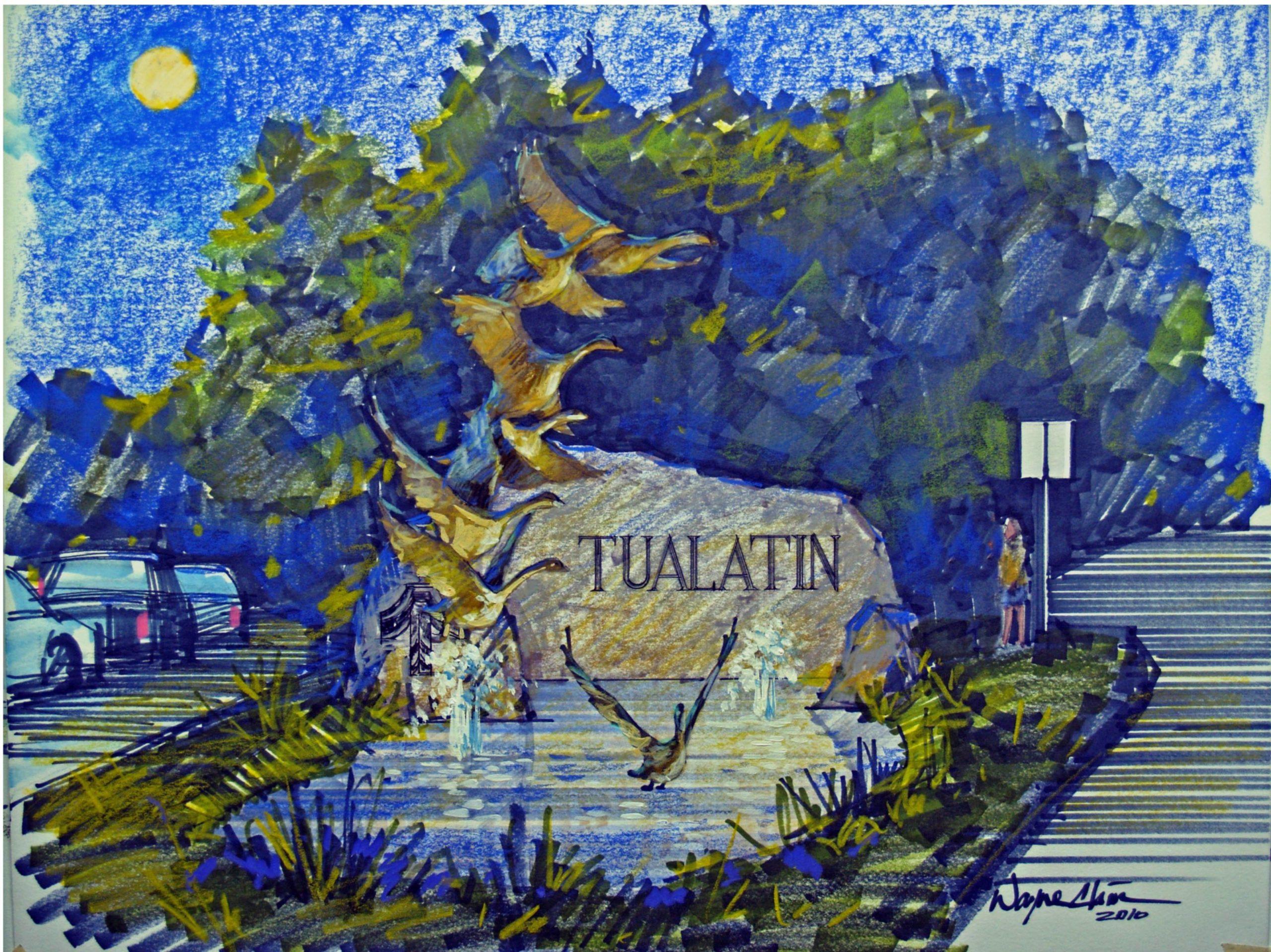 Tualatin Gateway Art Monument