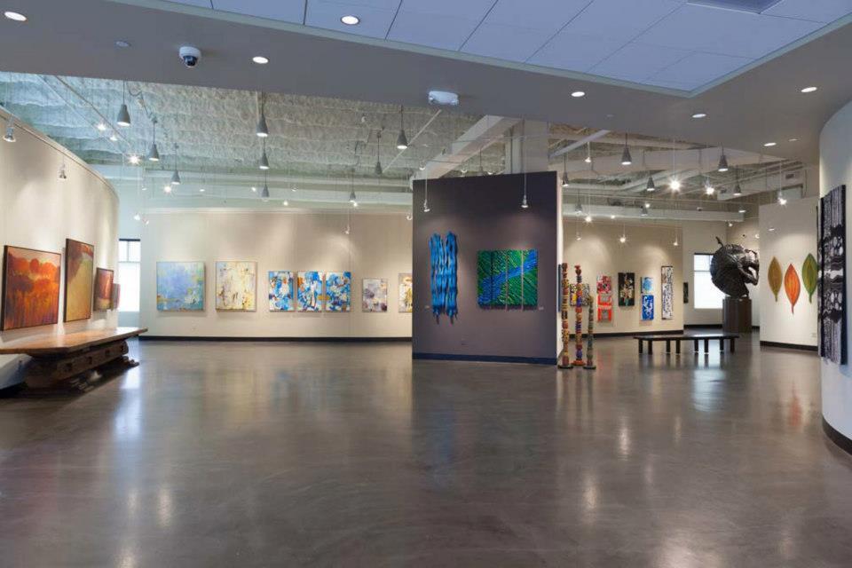 Madden Museum of Fine Arts exhibit