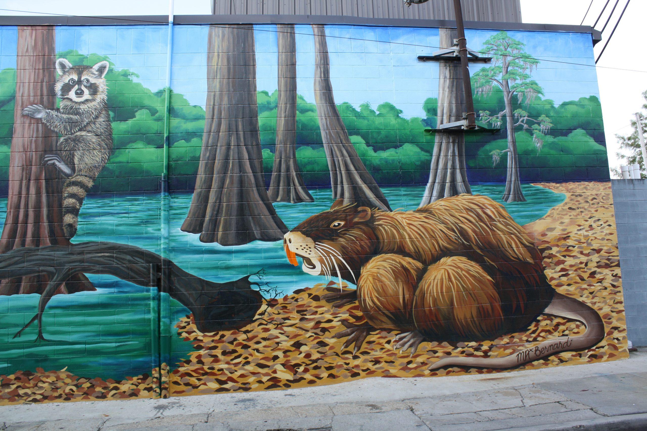 Breaux Mart Bayou Mural