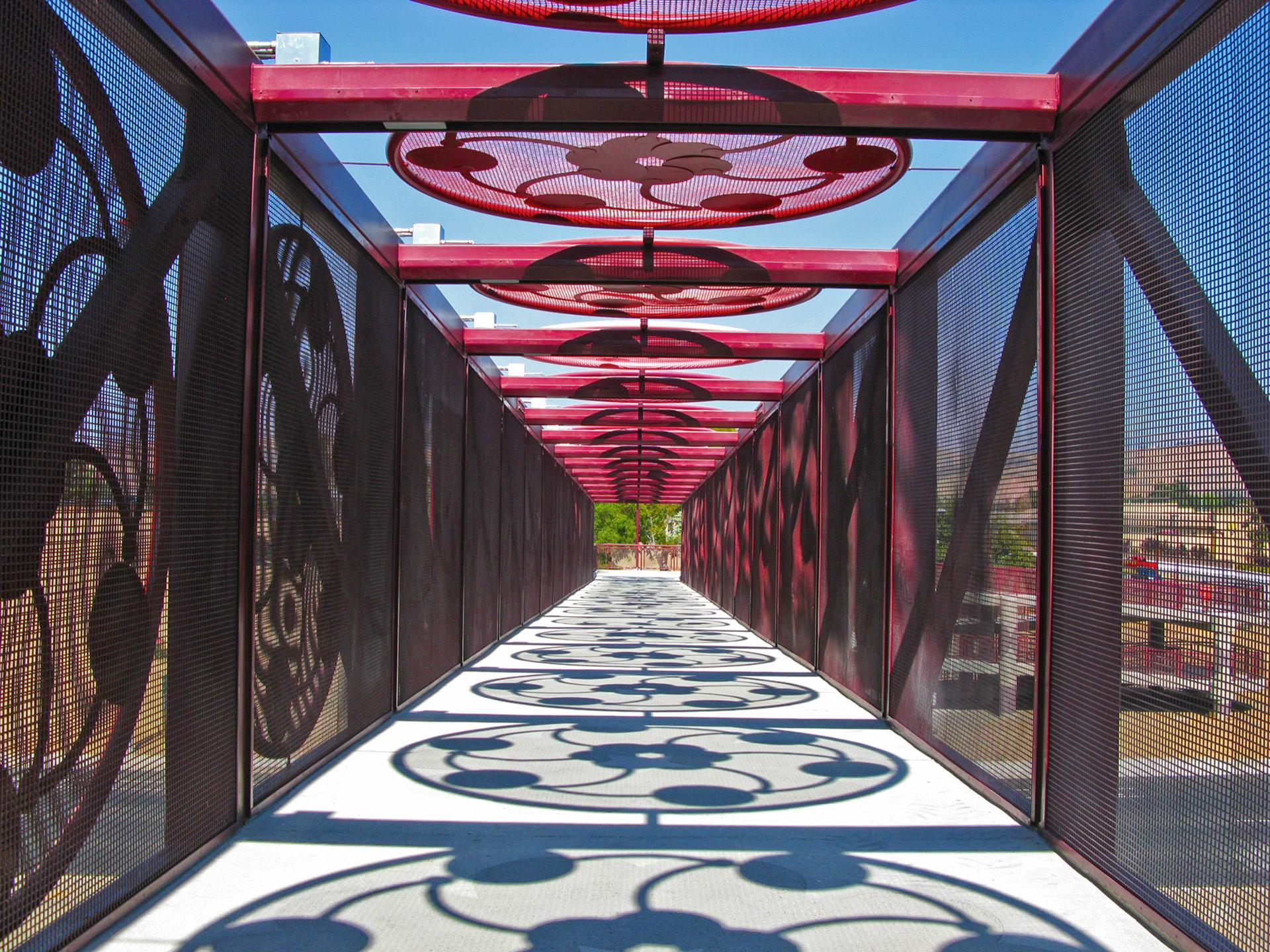 Blossom Hill Pedestrian Bridge