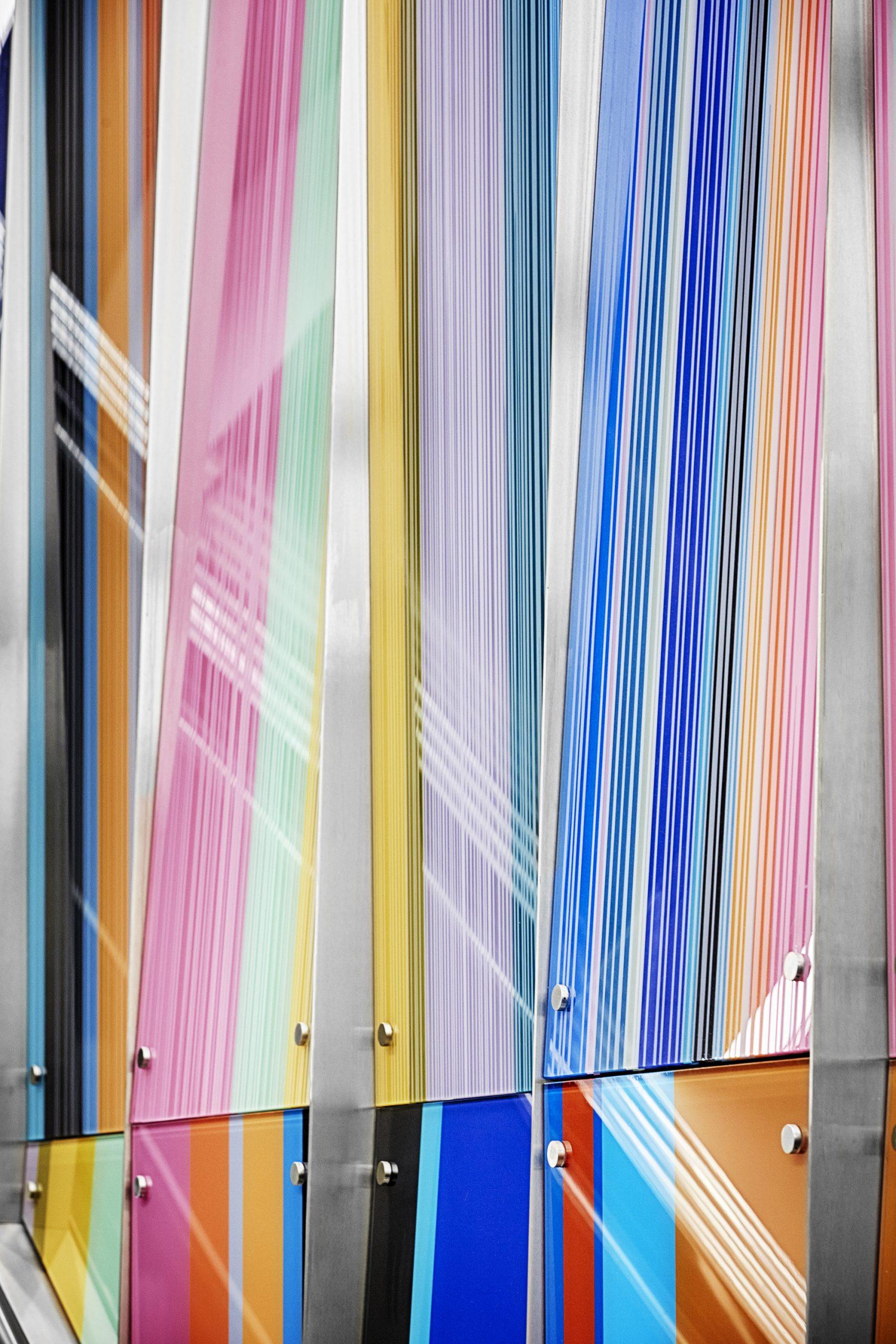 Richard Bolling Federal Building Escalator/Art Wall