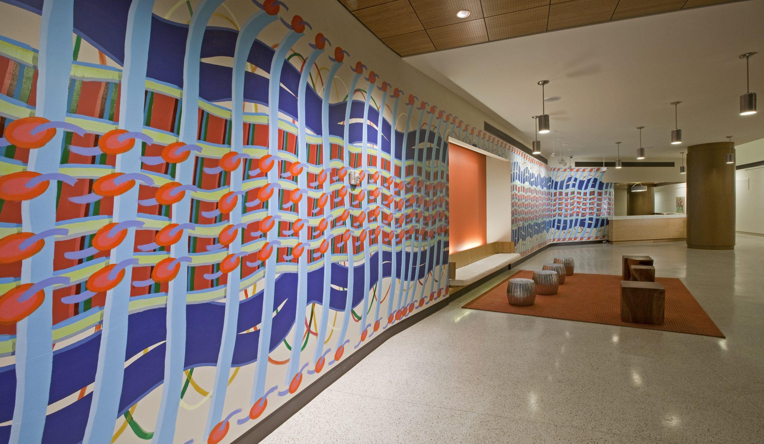Loop Weave Woven Wall Painting