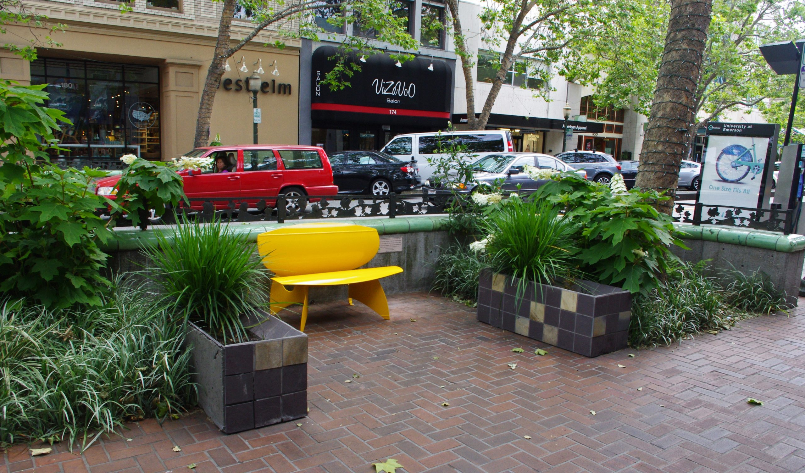 Palo Alto Streetscape