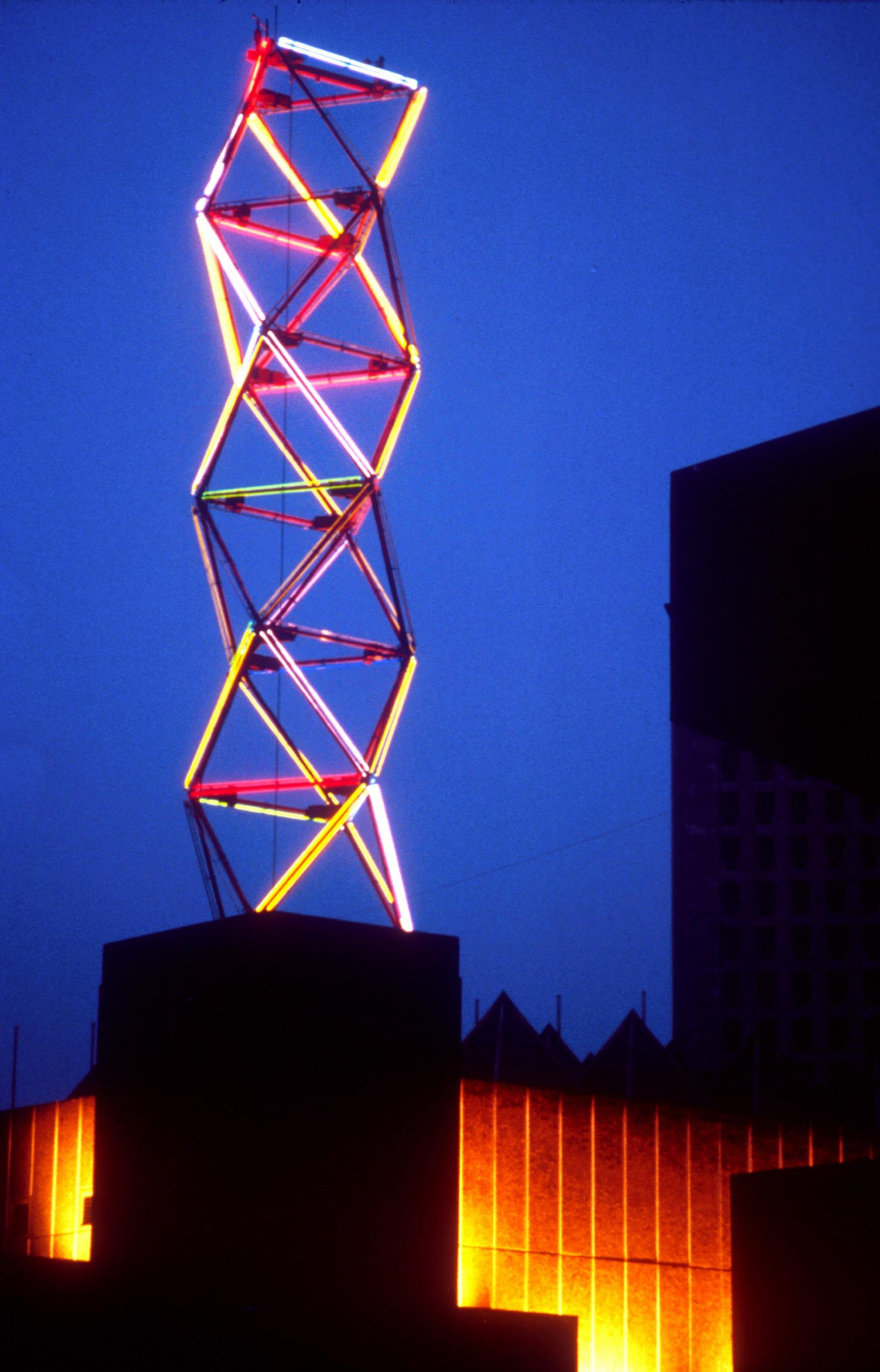 Neon Tower, Hayward Gallery