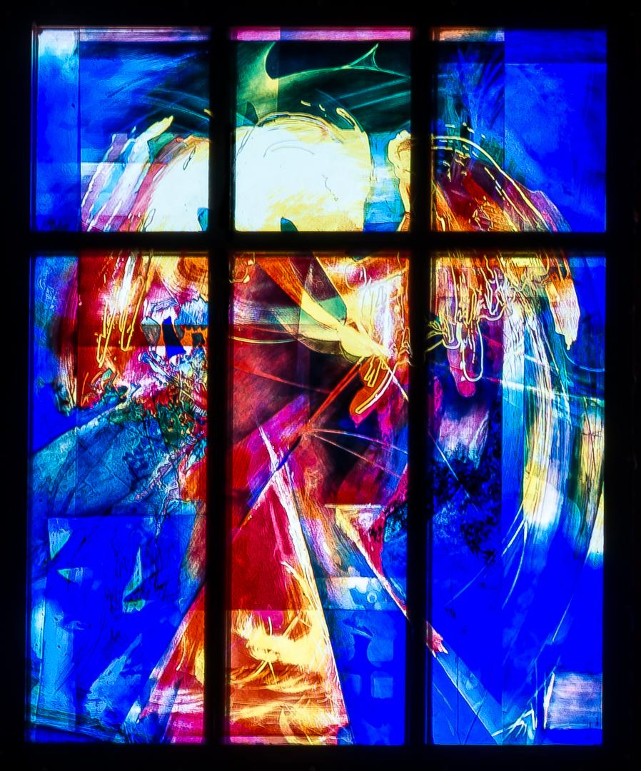 Heavenly Jerusalem Windows