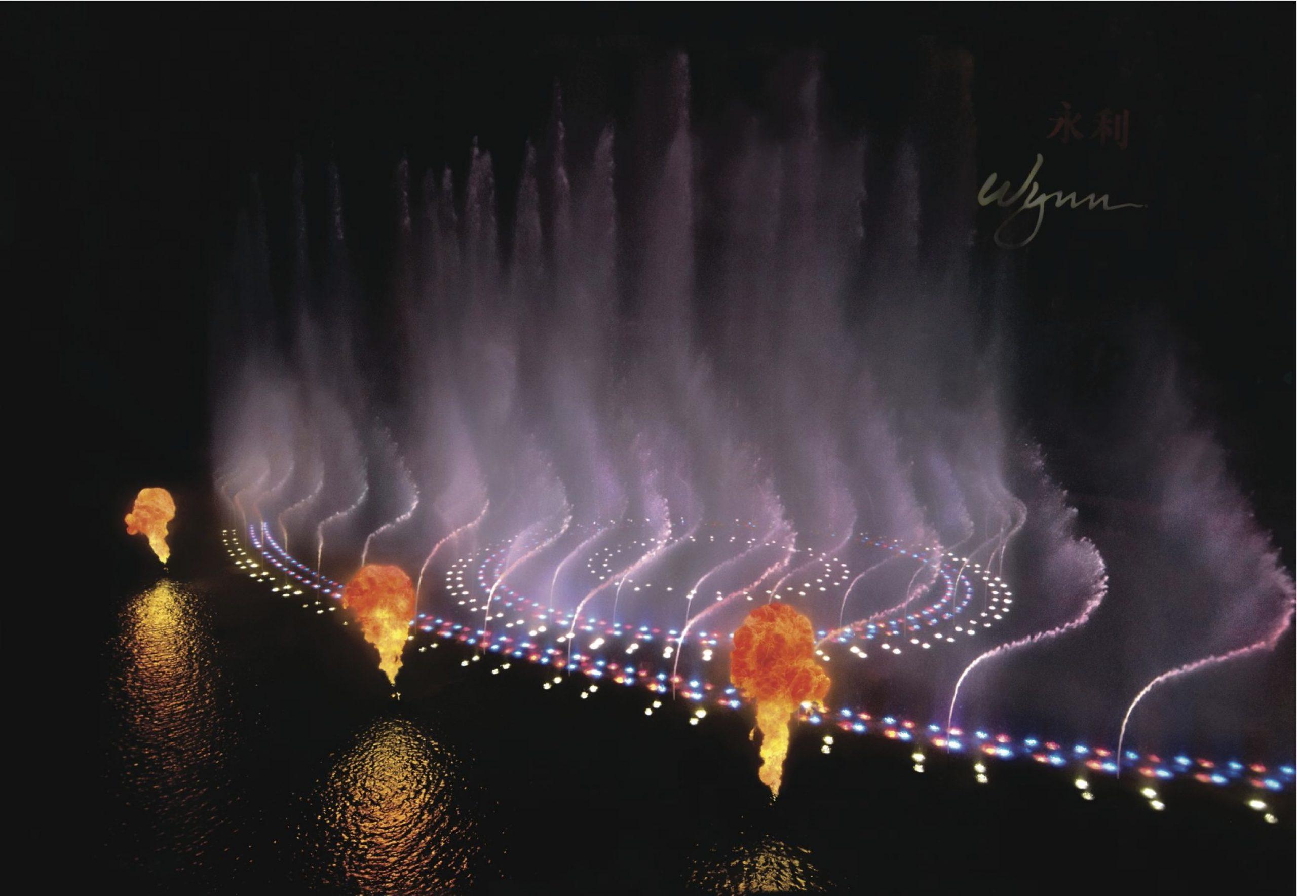 Performance Lake at Wynn Macau