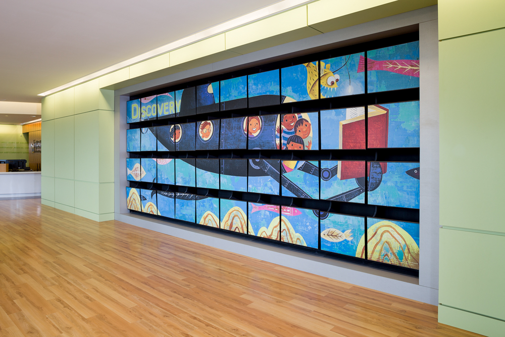 UVA Storytelling and Feature Walls
