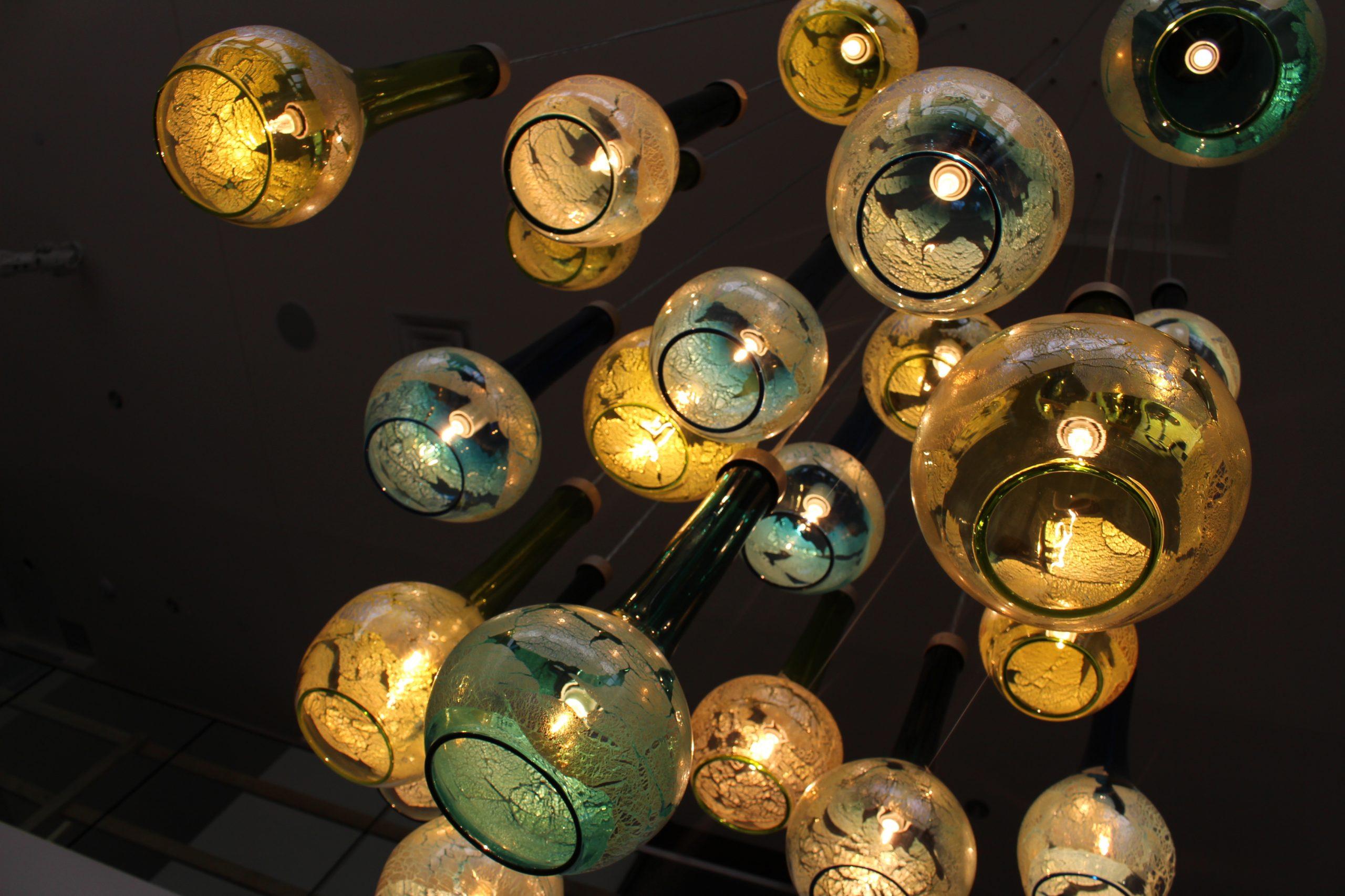 Cascade Light Art Chandelier
