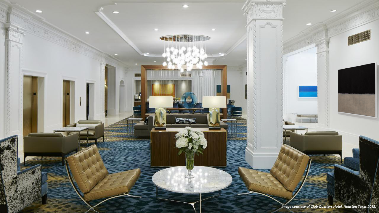 Club Quarters Hotel, Houston Texas
