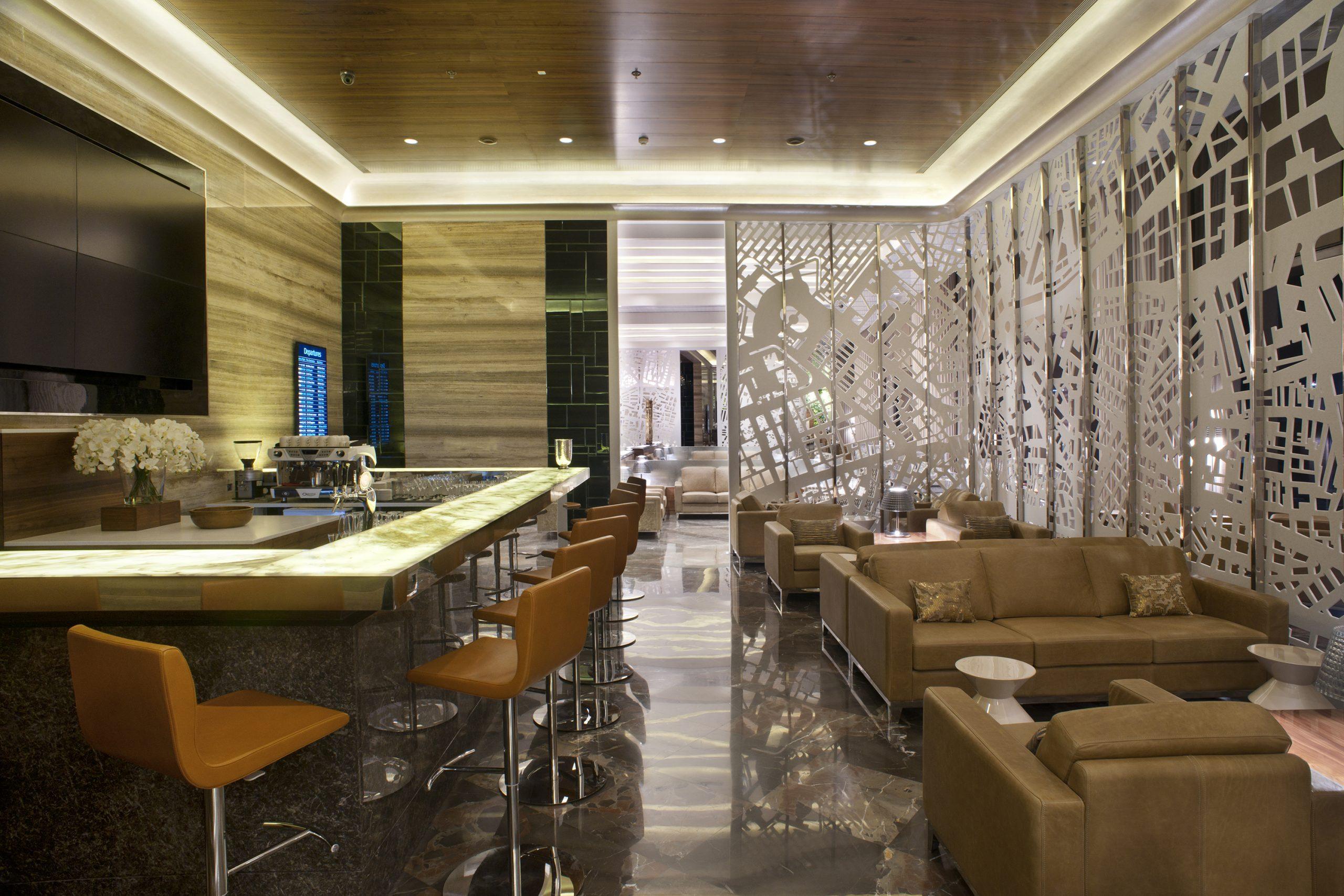 GVK Business Class Lounge