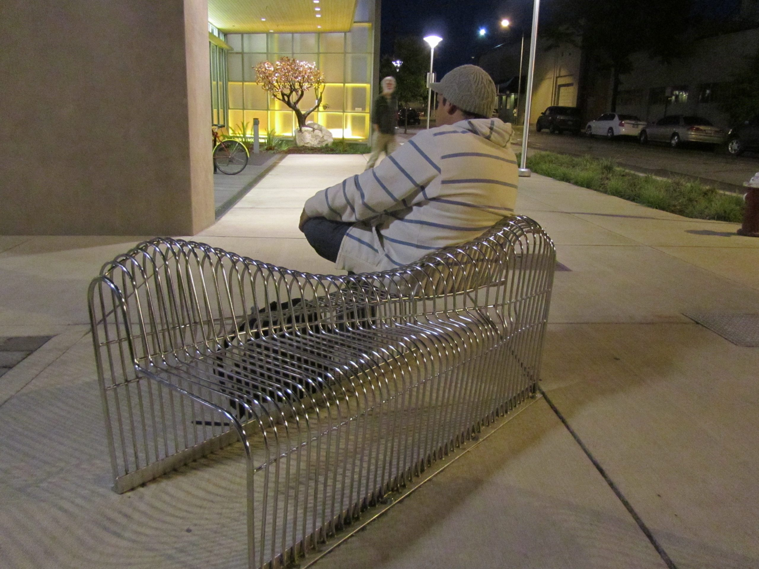 Railroad Ave Benches
