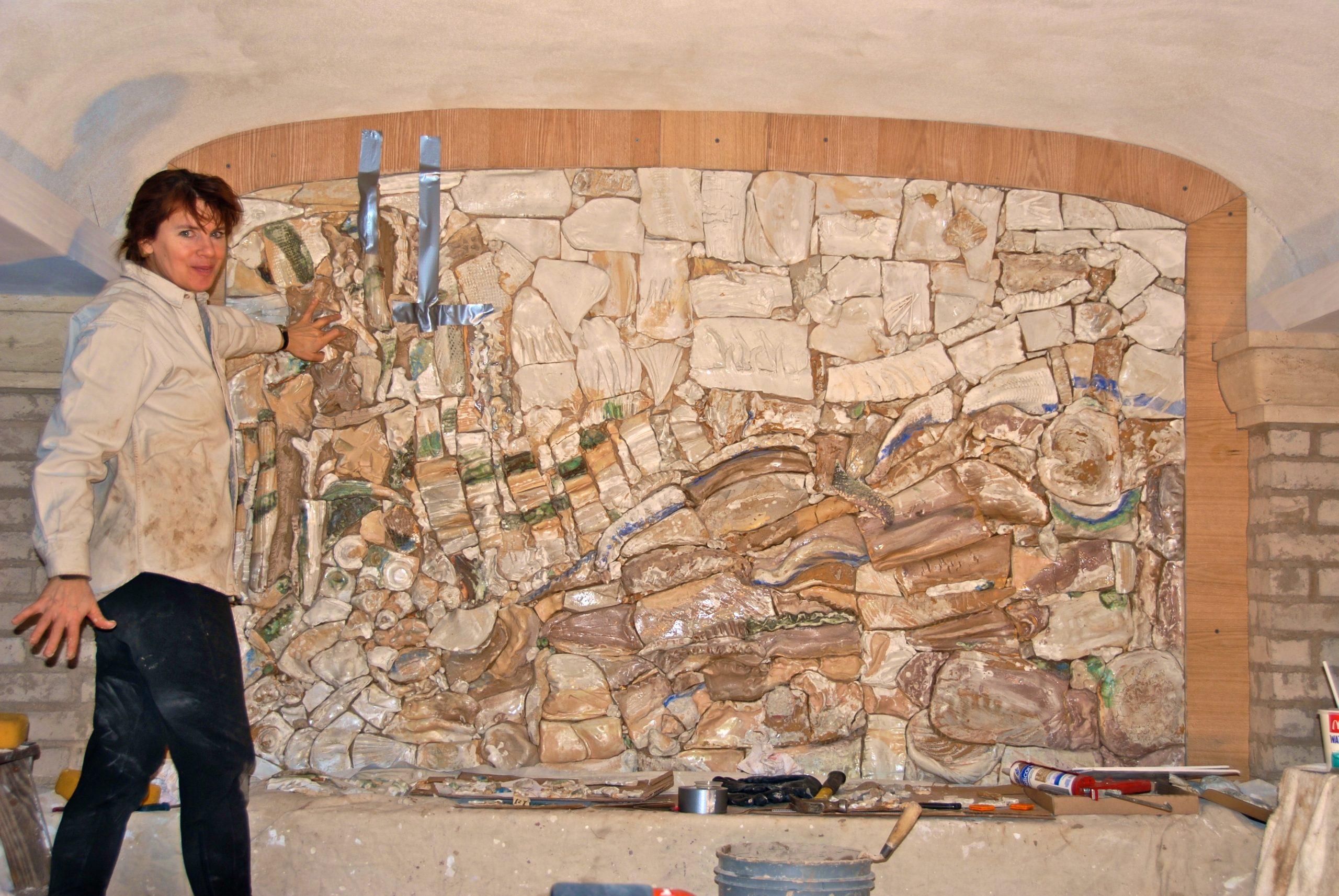 Ceramic Wine Wall