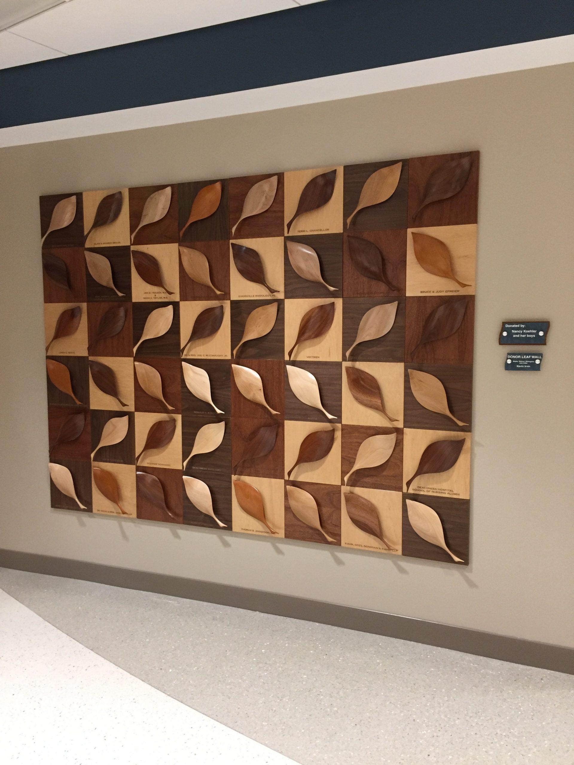 Donor Leaf Wall