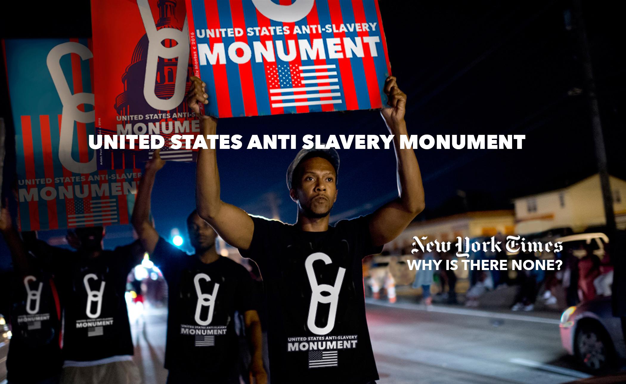 NATIONAL ANTI-SLAVERY, ANTI HUMAN TRAFFICKING MONUMENT