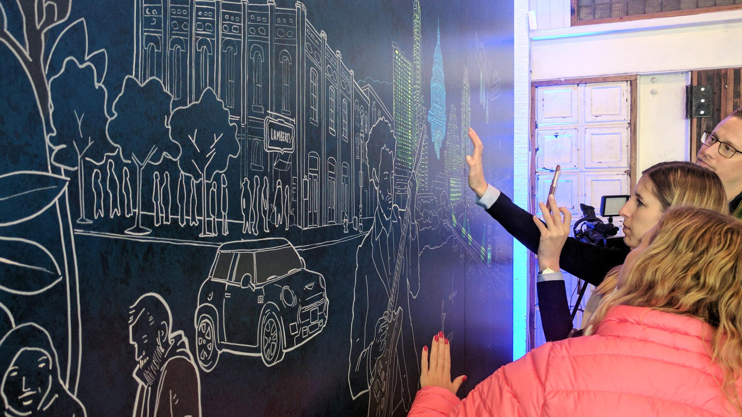 SXSW Interactive Mural