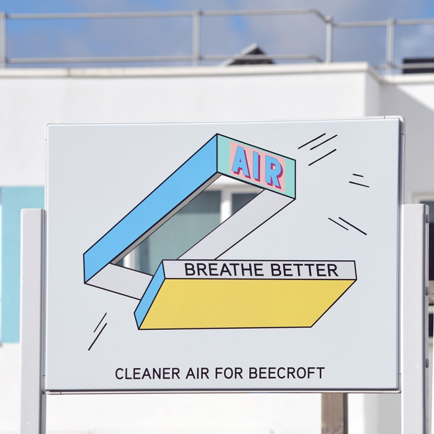 LONDON MAYOR'S AIR QUALITY FUNDED PUBLIC ART PROJECT