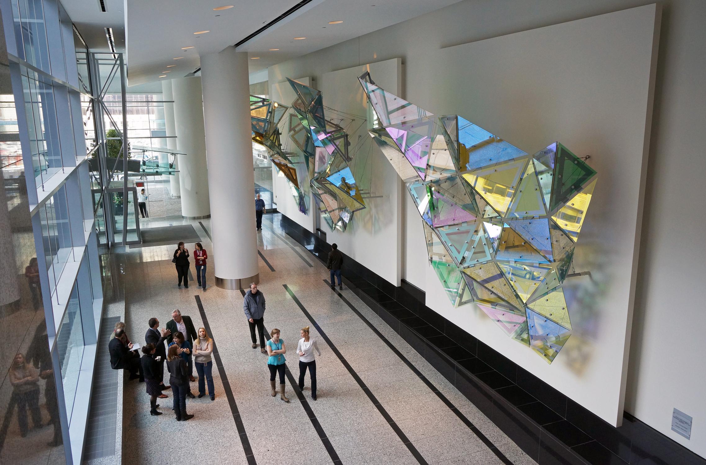 Glass Hexagonal Perturbation -HAT Trick,