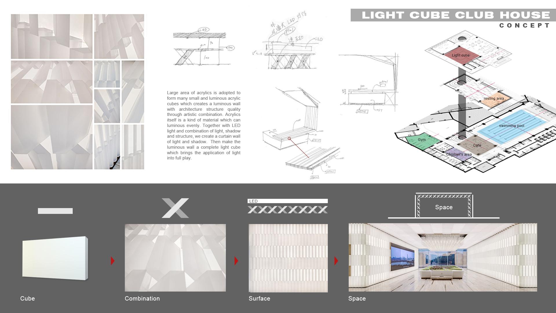 Light Cube Club House