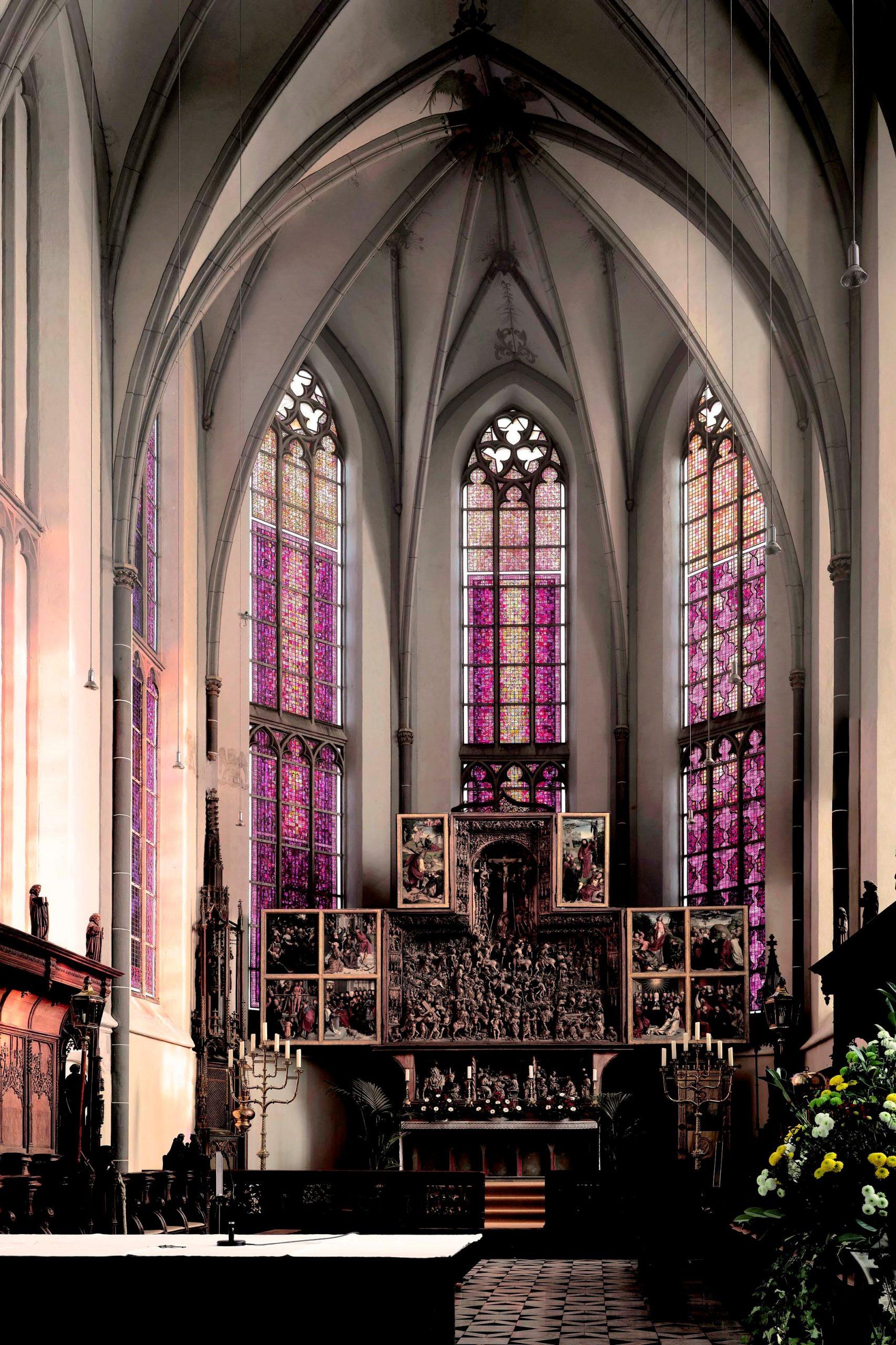 St. Nicolai – late Gothic hall church