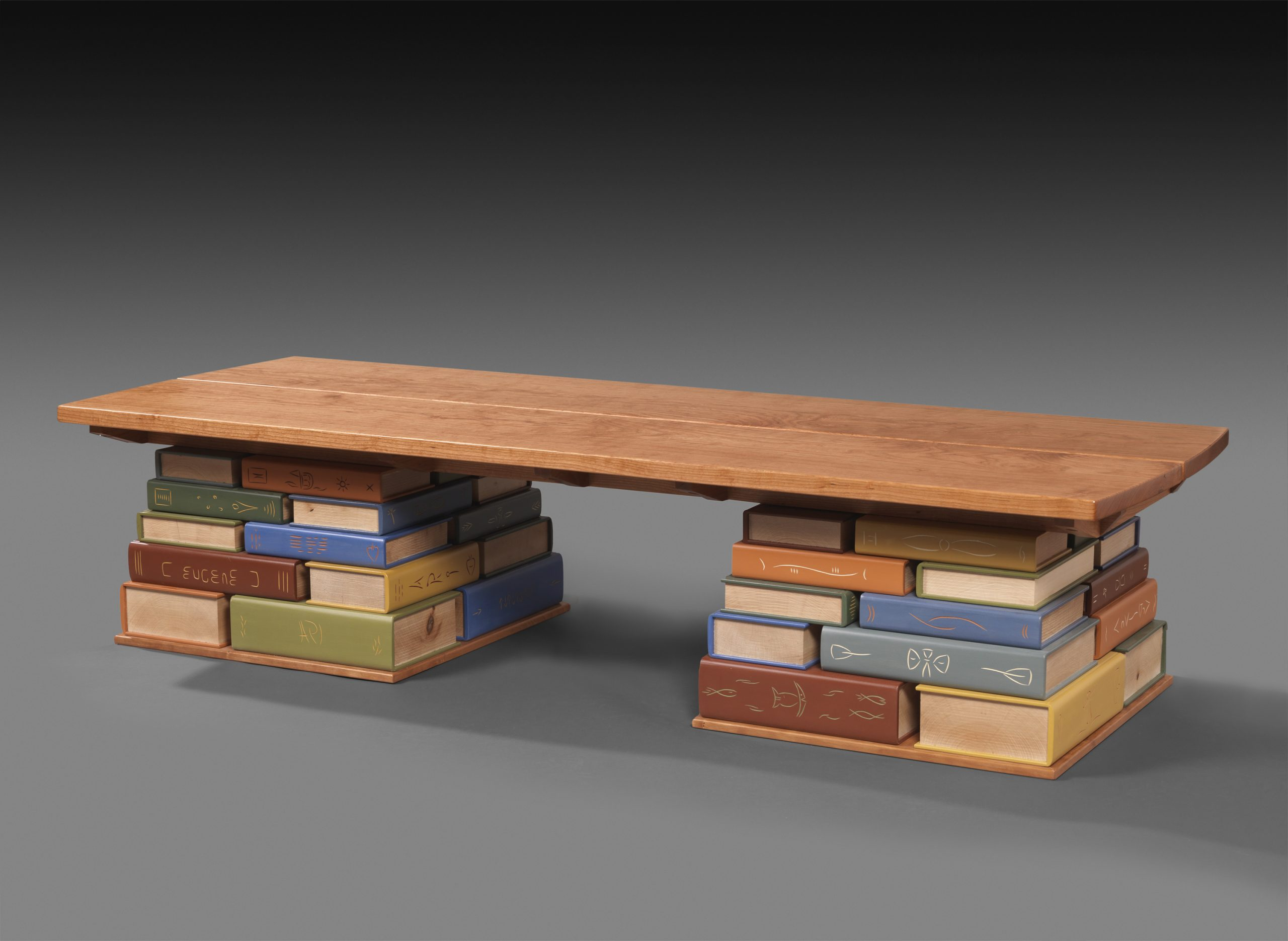 Book Bench for the Kent Memorial Library