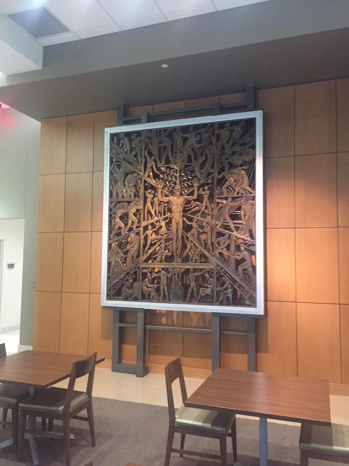 Louisiana at Work and Play: Bronze Reproduction of Enrique Alferez Sculpture