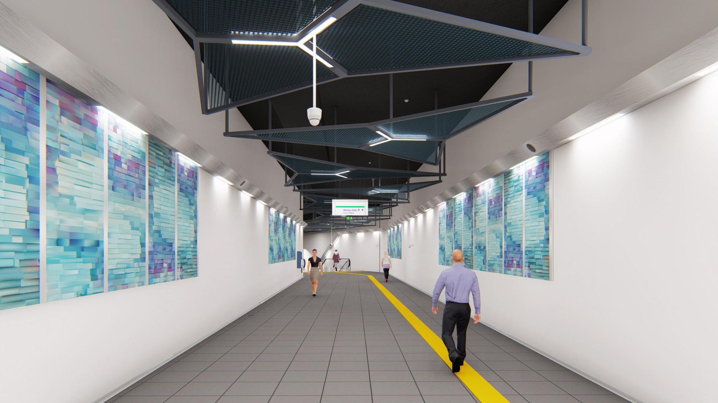 Istanbul Metropolitan Municipality Metro Stations