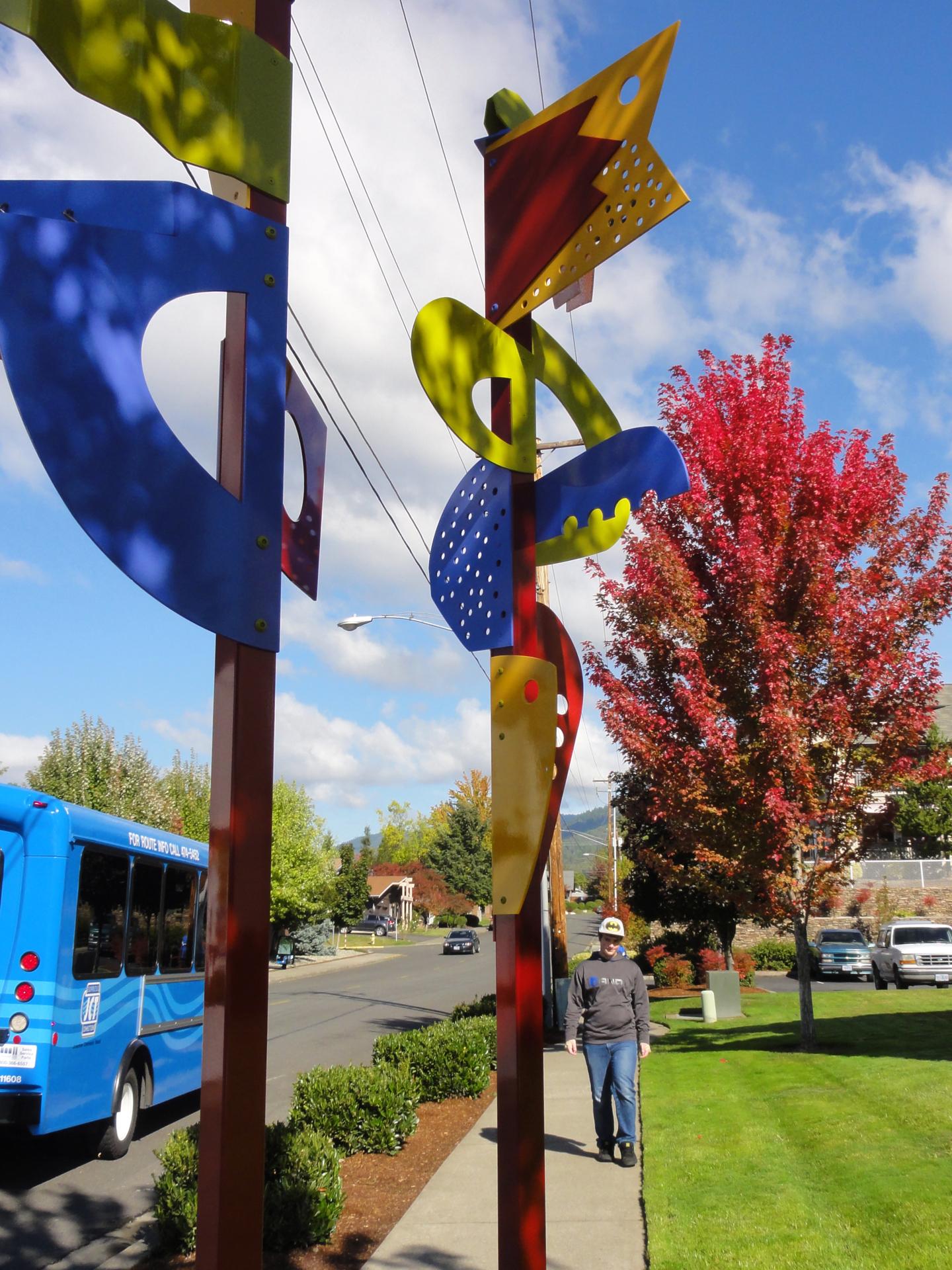 Conversation, Grants Pass Bus Stop