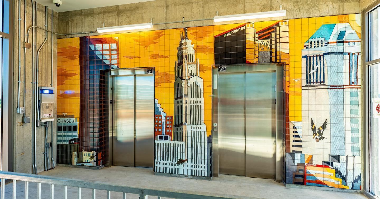 Ohio Center Garage Elevator