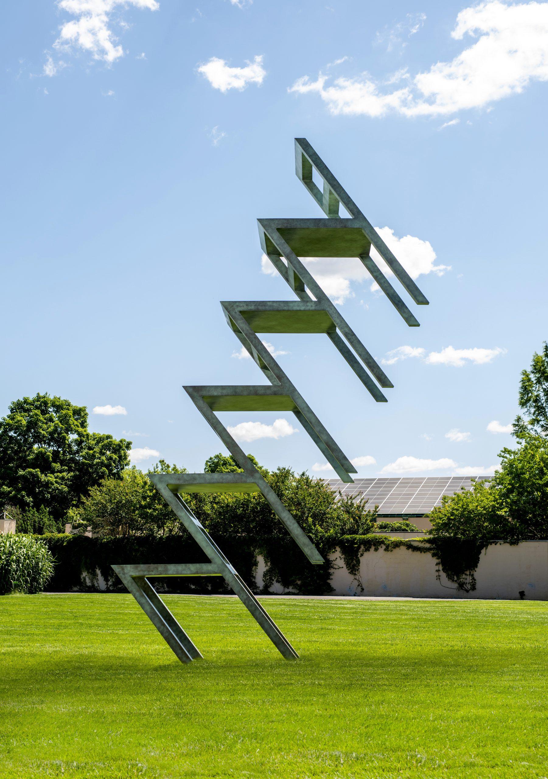"""""""Chair Transformation #20B"""" by Lucas Samaras"""
