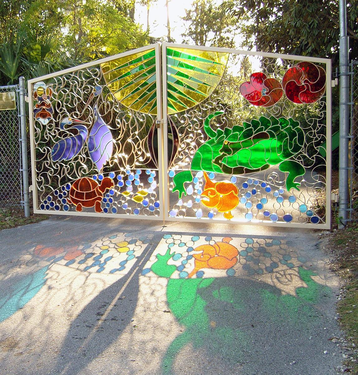Ornamental Gates – Miami Dade College