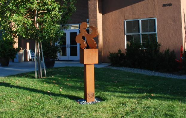 Alef Letter Sculpture