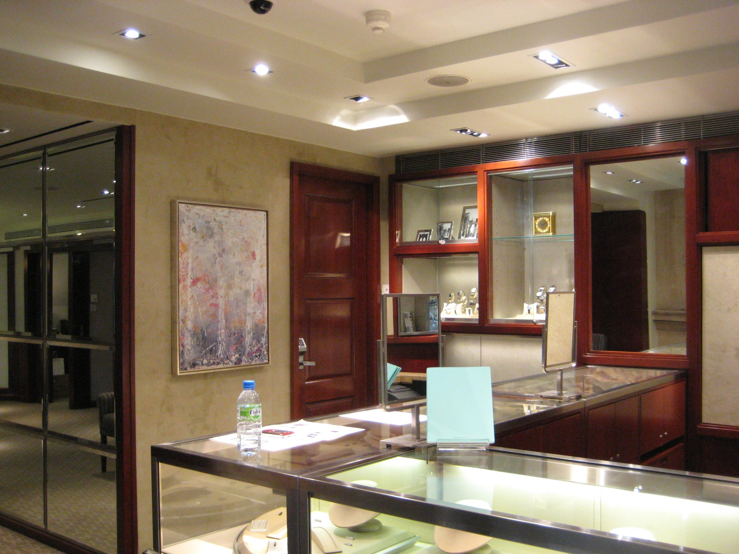 Tiffany & Co. Encaustic and oil paintings