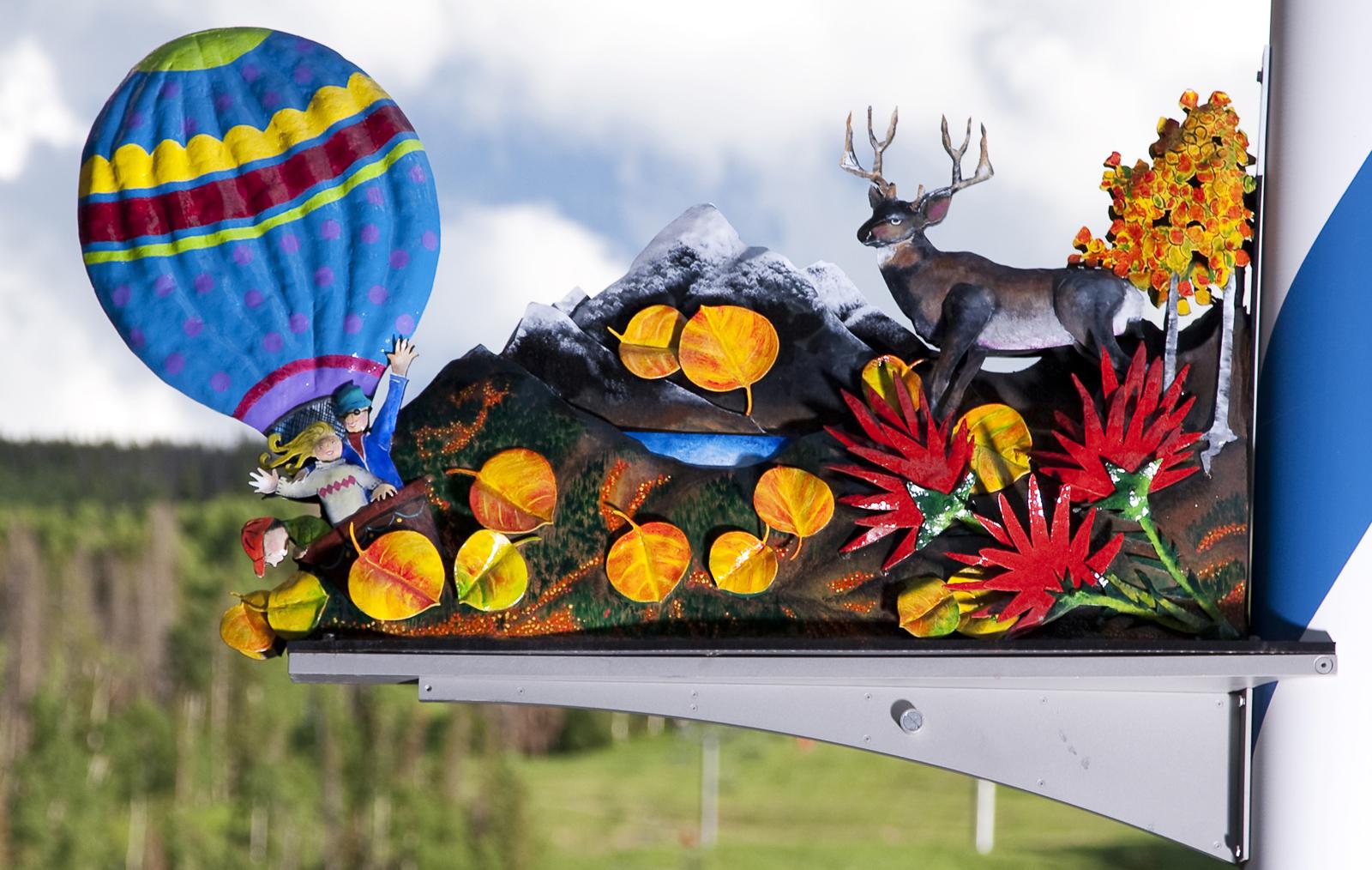 Flora & Fauna: Seasons of Vail Maypole