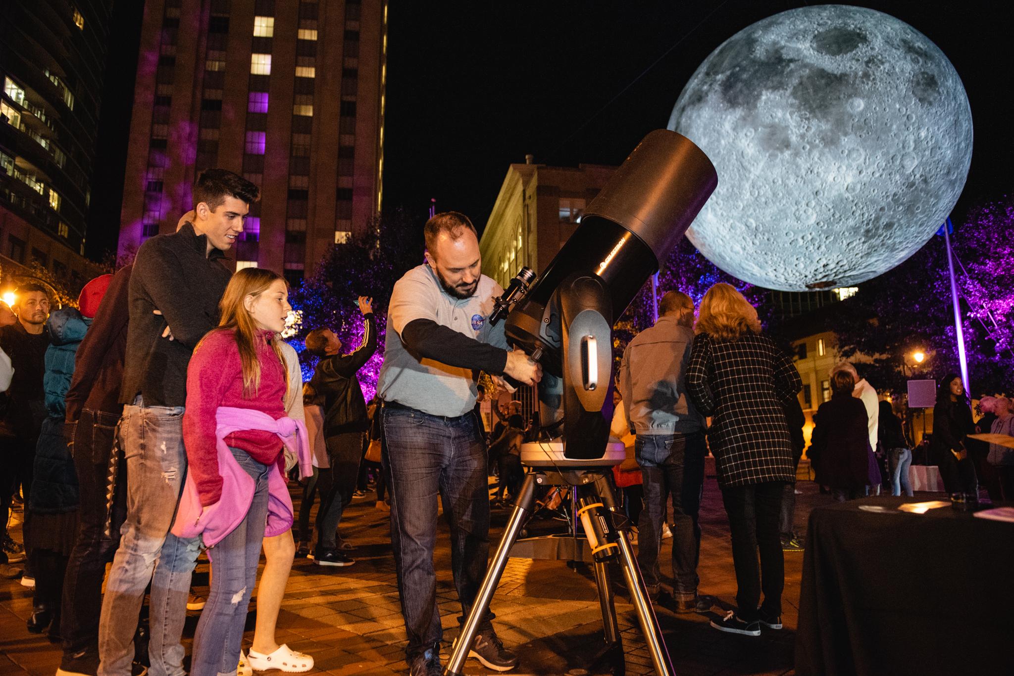 Bull Moon Rising & the Illumination of Historic Parrish Street