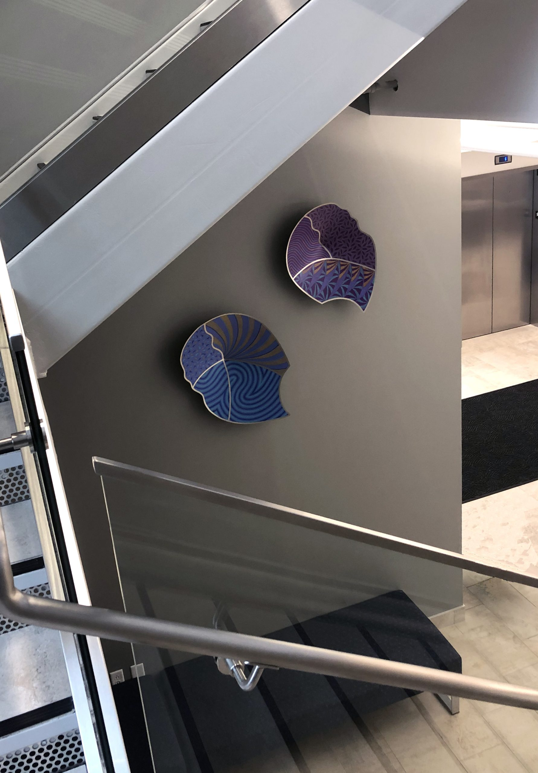 Vessels for a Stairway