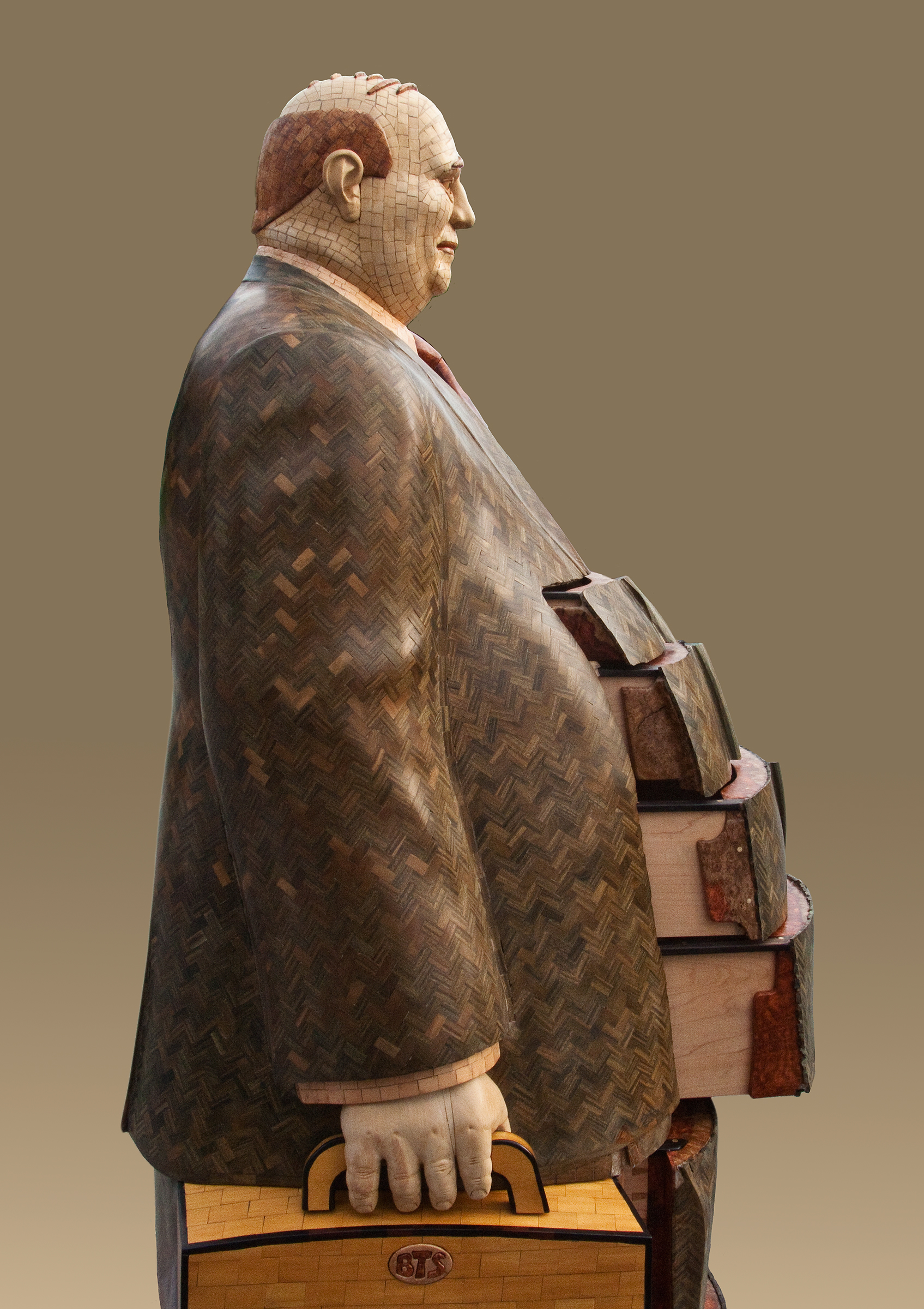 The Man with the Yellow Briefcase