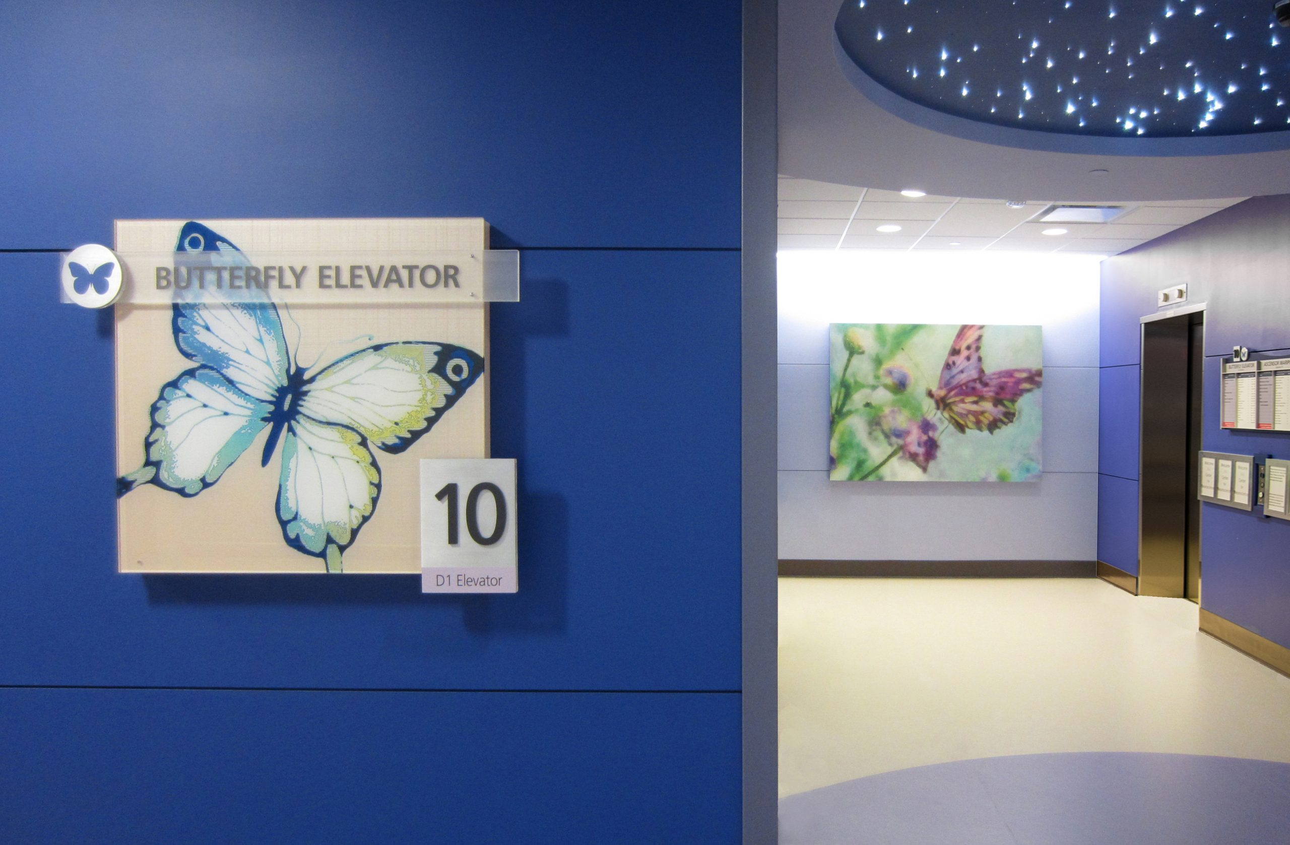 Visual Arts for Wayfinding at Children's Medical Center