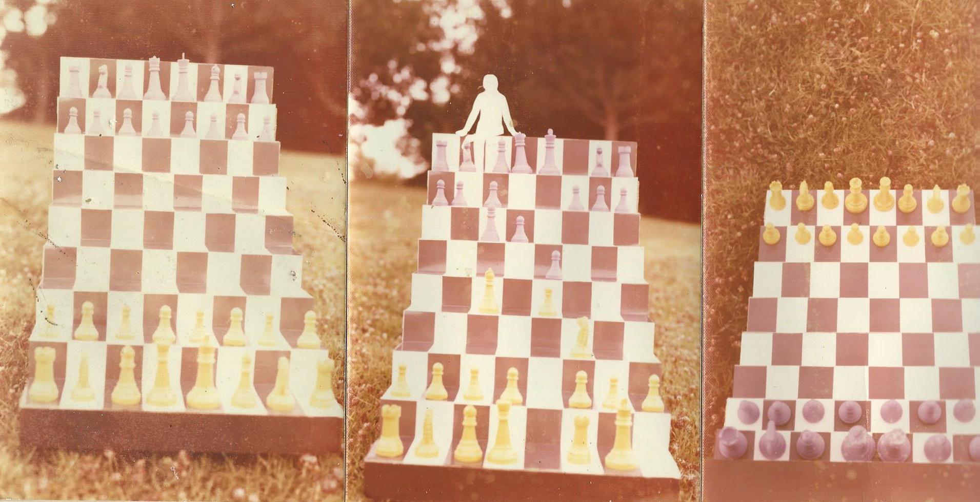 Interactive Chess Sculpture – People as Chess pieces