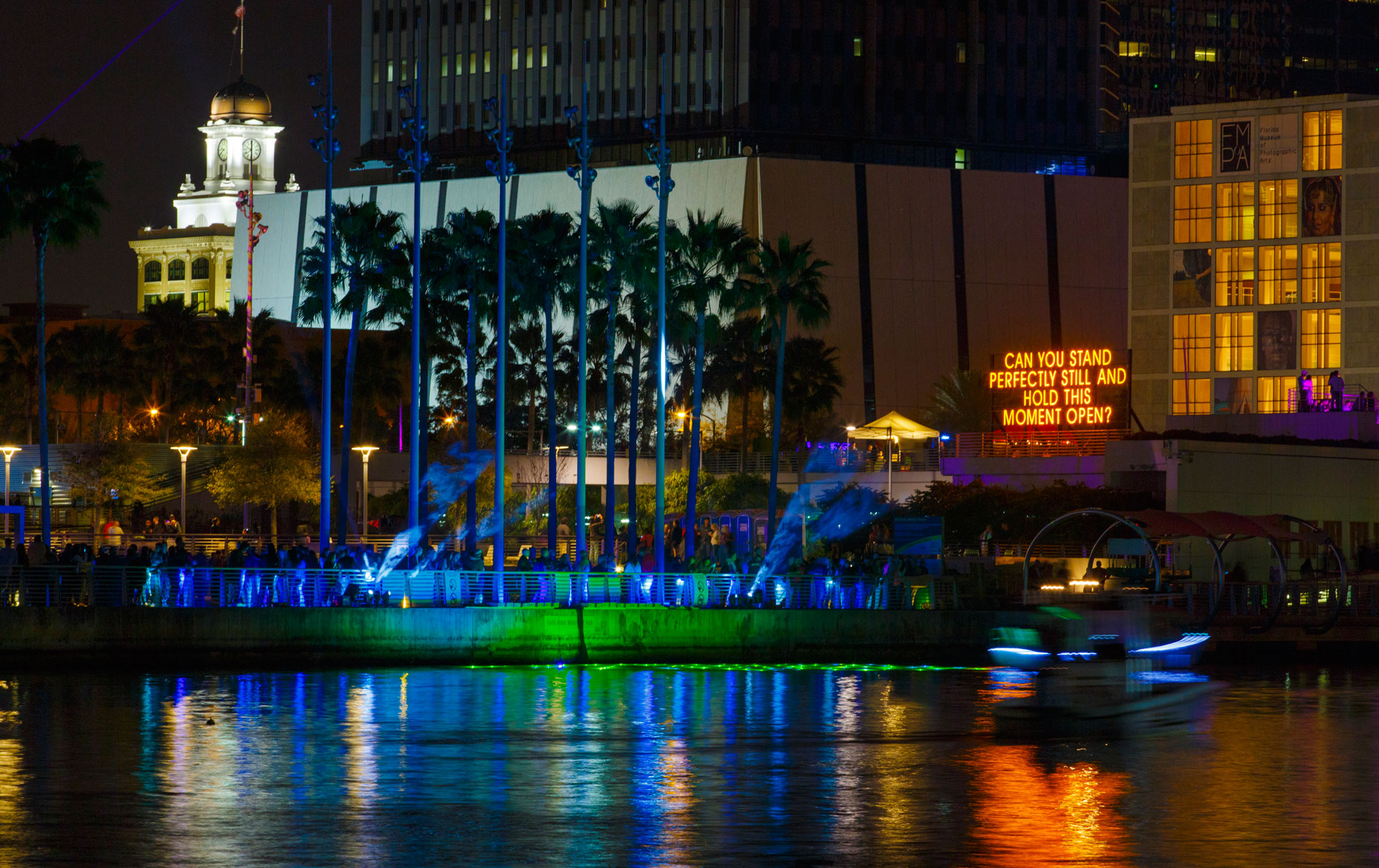 Up Lit: An Installation for Lights On Tampa 2015