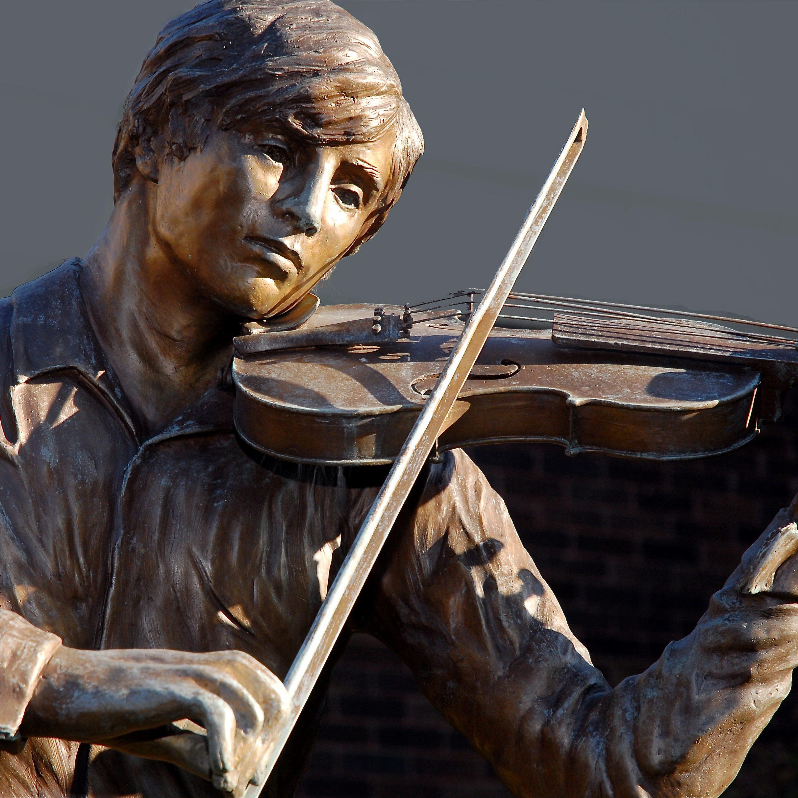 The Violinist-Bert Smith Memorial Garden-Flint Institute of Music