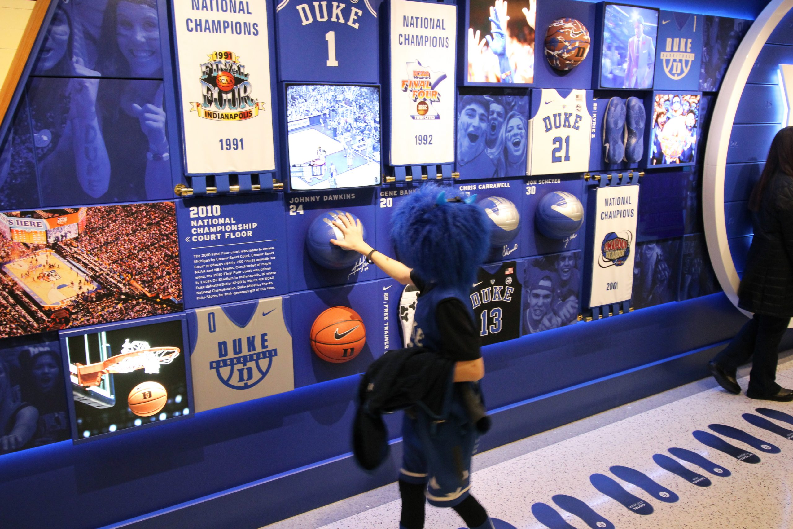 Duke Basketball – Cameron Crazies Wall