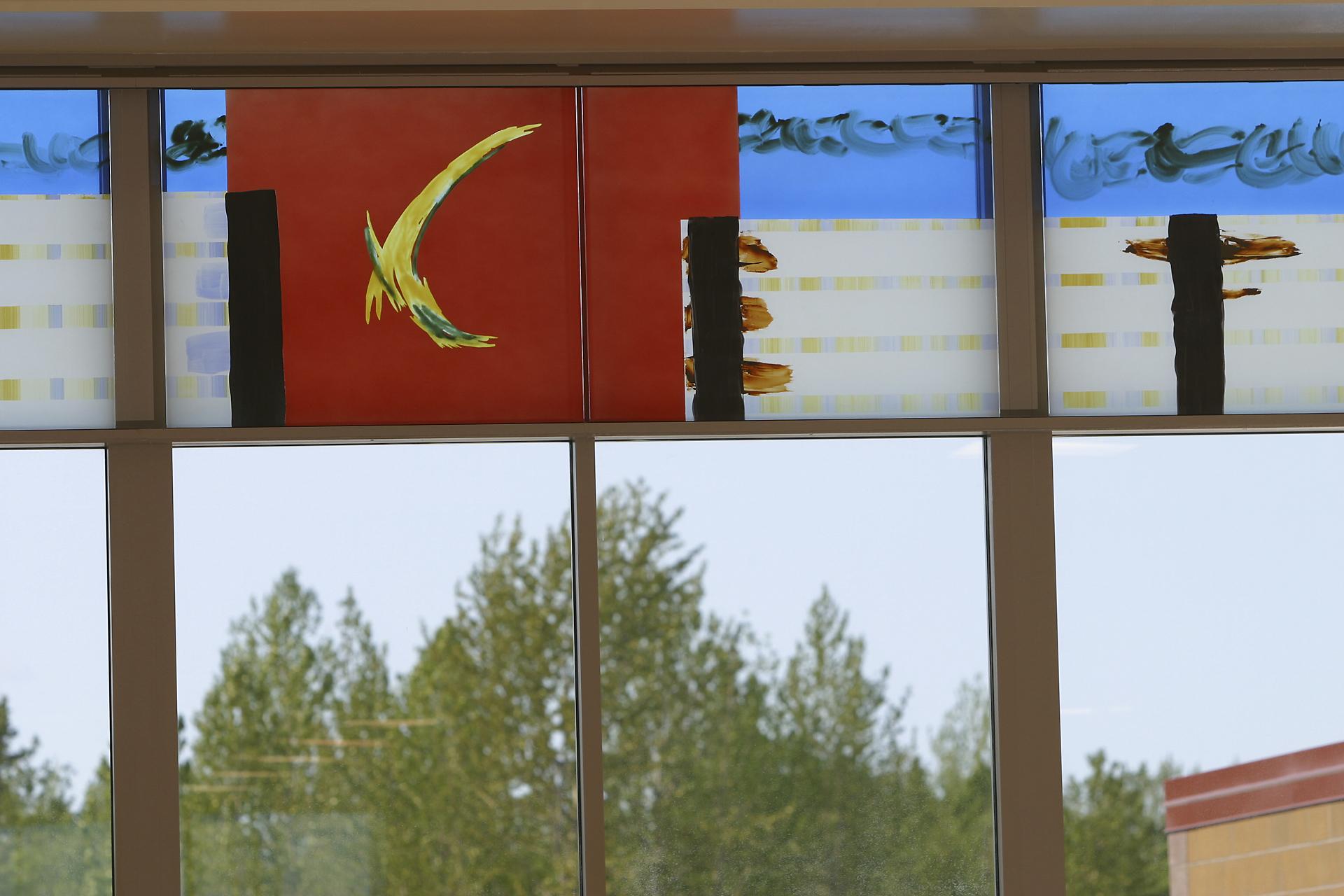South Entrance Clerestory, New Dimond High School, Anchorage, AK