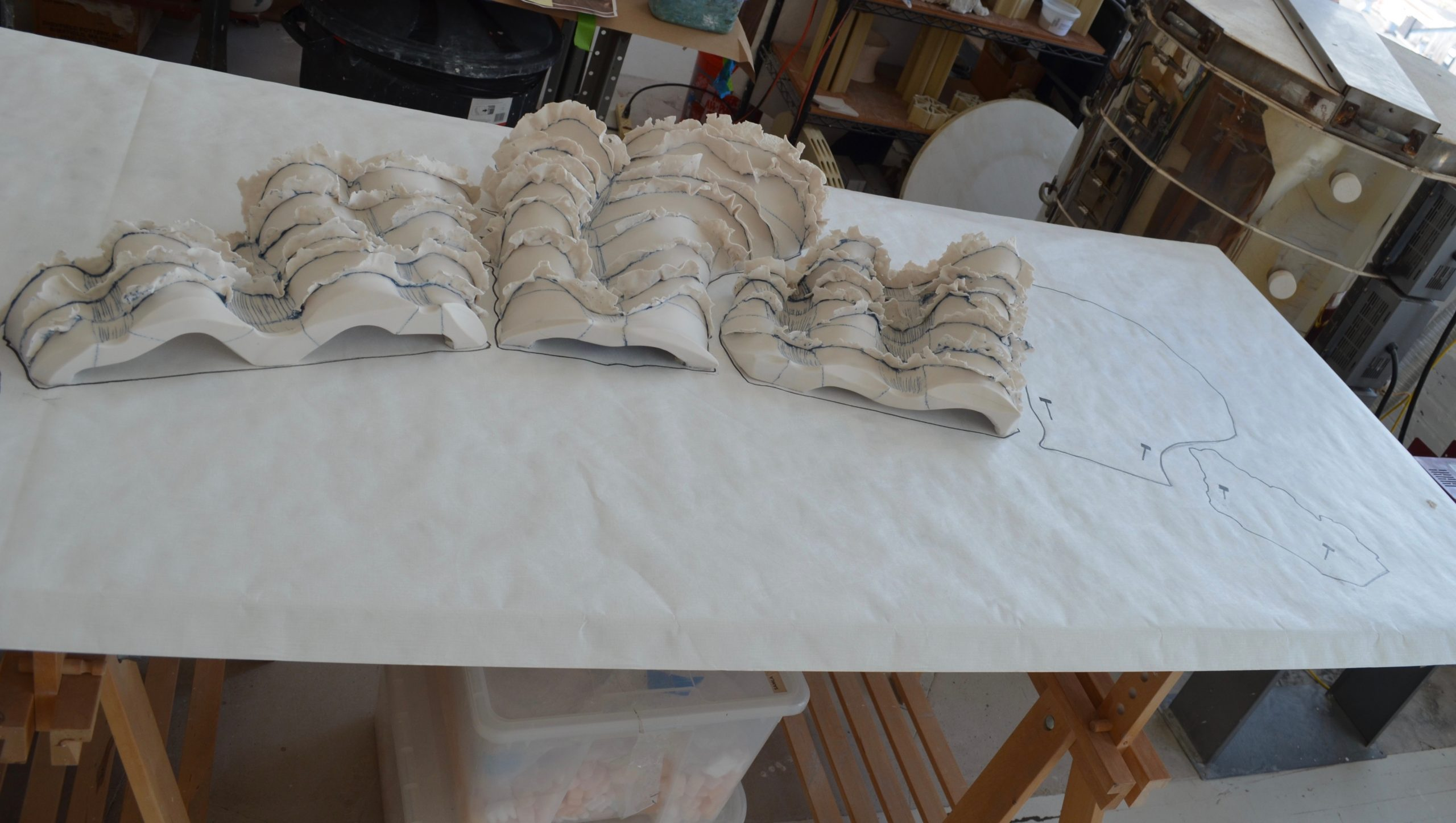 The Wave – Commission for Block Island home
