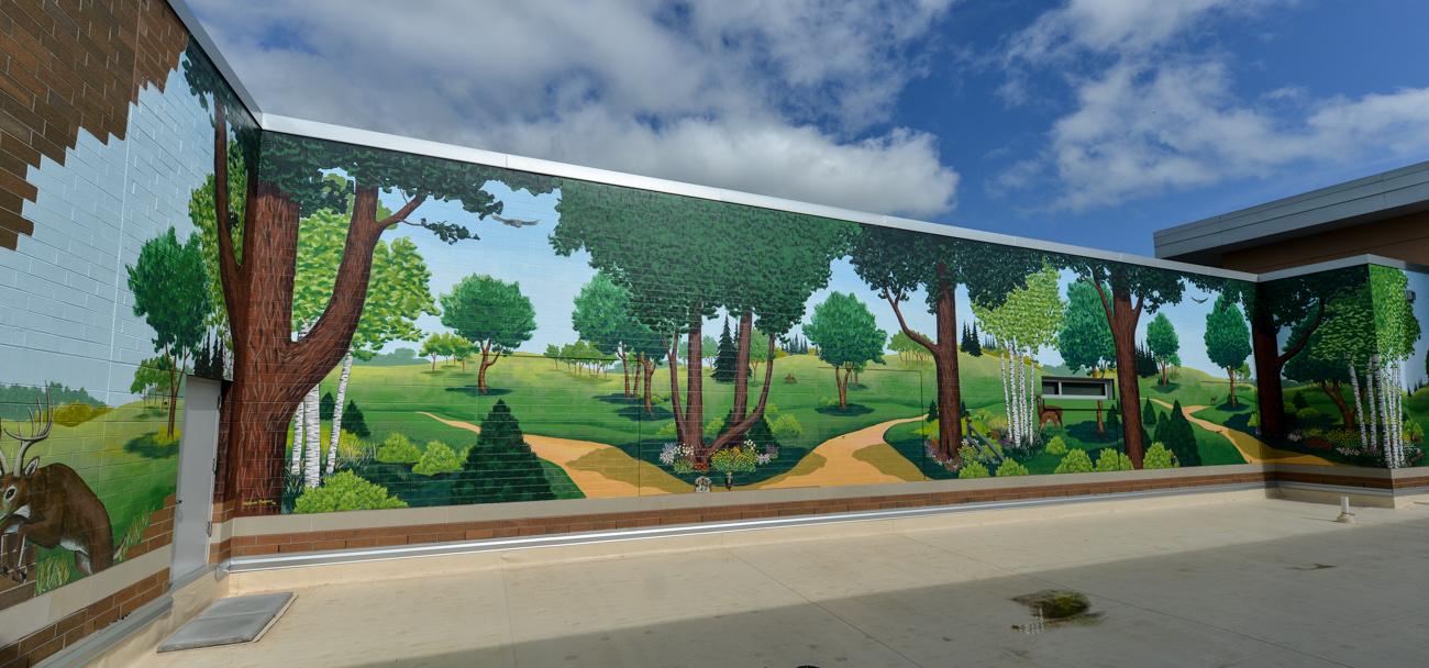 Aspirus Medford Hospital Mural