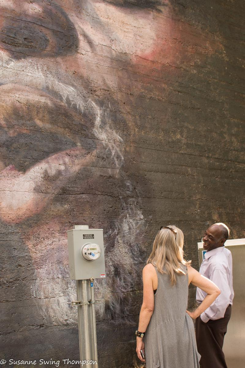 Singer Mural
