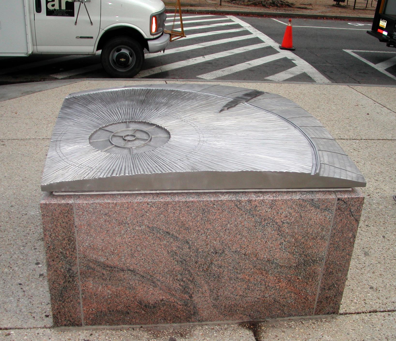 Smithsonian NASM Exhibit Plinths